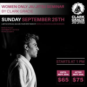 clark gracie seminar