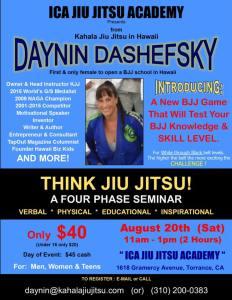daynin dashefsky seminar