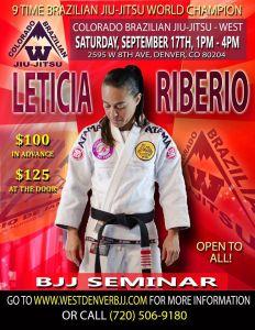 leticia ribeiro bjj seminar colorado