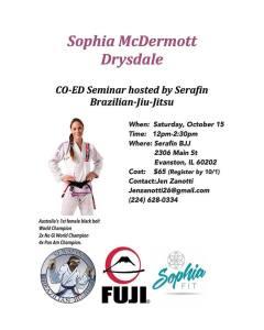 sophia drysdale october seminar