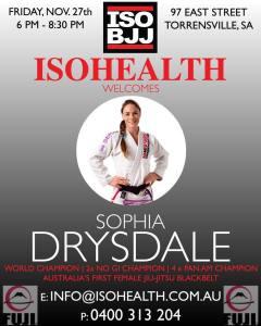 sophia_drysdale_isohealth_seminar