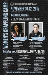 Women's Grappling Camp 2012, Arlington, VA