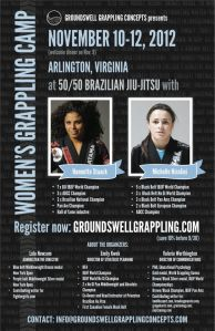 Women's Grappling Camp 2012, Arlington, VA