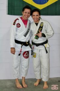 Fabiana Borges and Miriam Cardoso