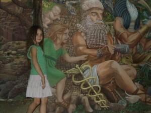 Mural Beyond Words at Prescott Public Library- Breezy 2009