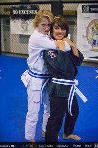 BJJ BFFs Beth and Zantha