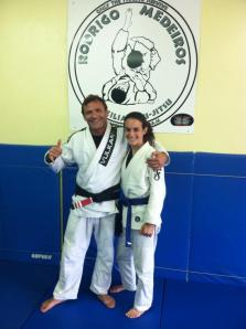 My Blue Belt Promotion